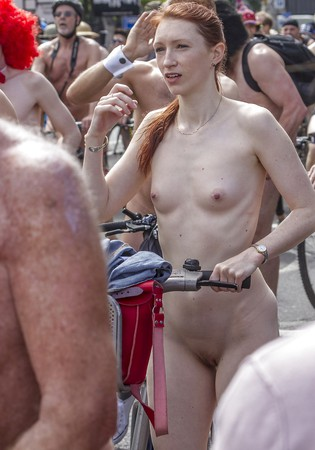love youre body join the naked bike ride
