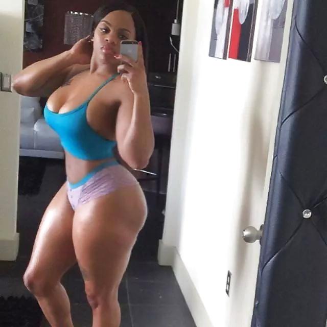 Petite nude black girl