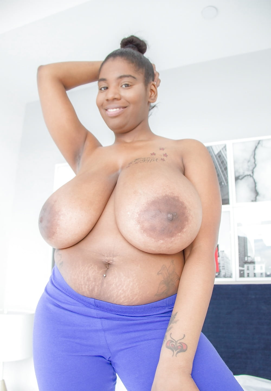 Big areolas nipples ebony