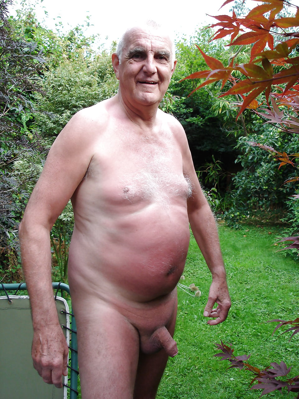 Horny Grandpa's Naked Images