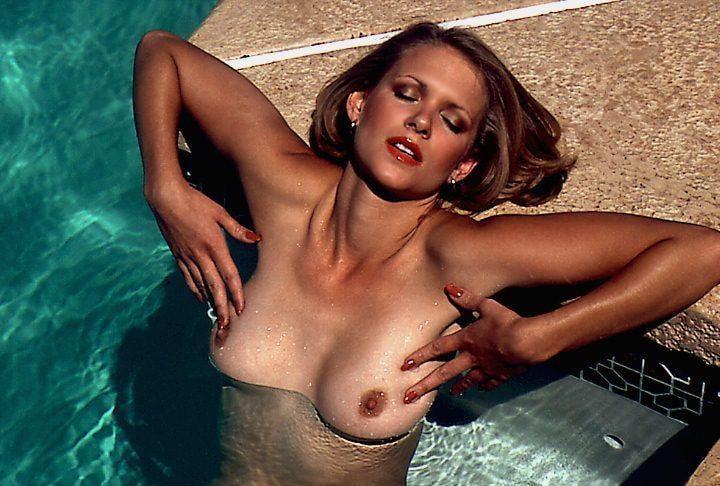 Beautiful blond nude