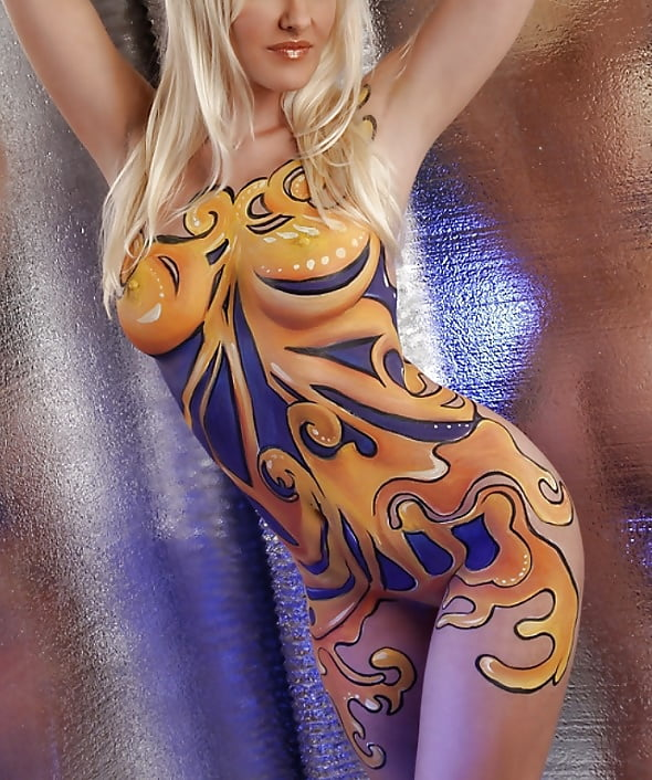 Body Painting Porn Pics And Tranny Sex Images