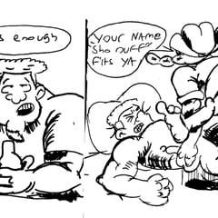 Granny Bully Comic Strip