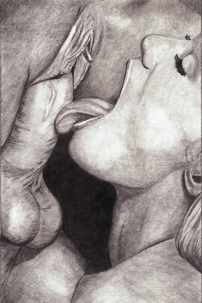 Фото секс с карандашом