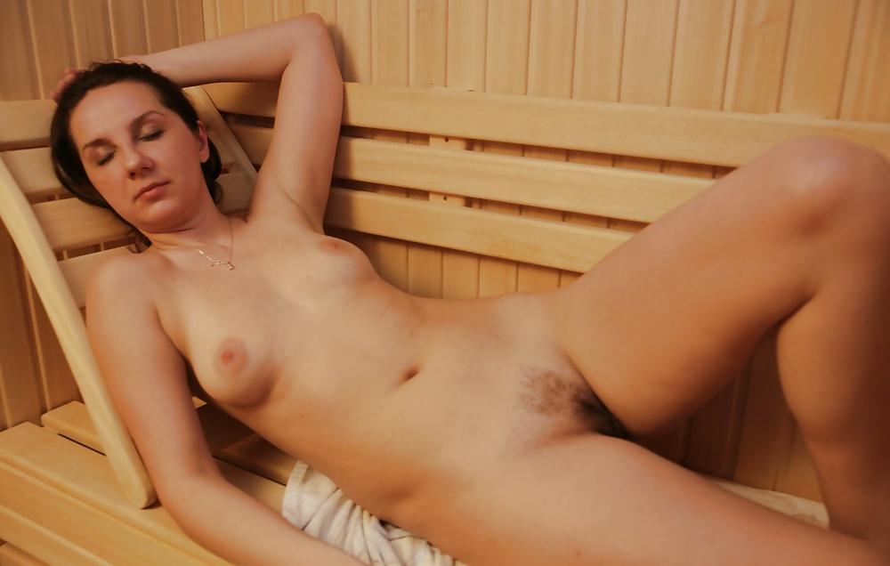 Busty Blonde Milf Fucked In The Sauna