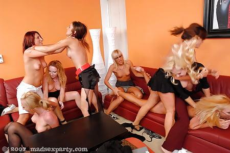 lesbians party