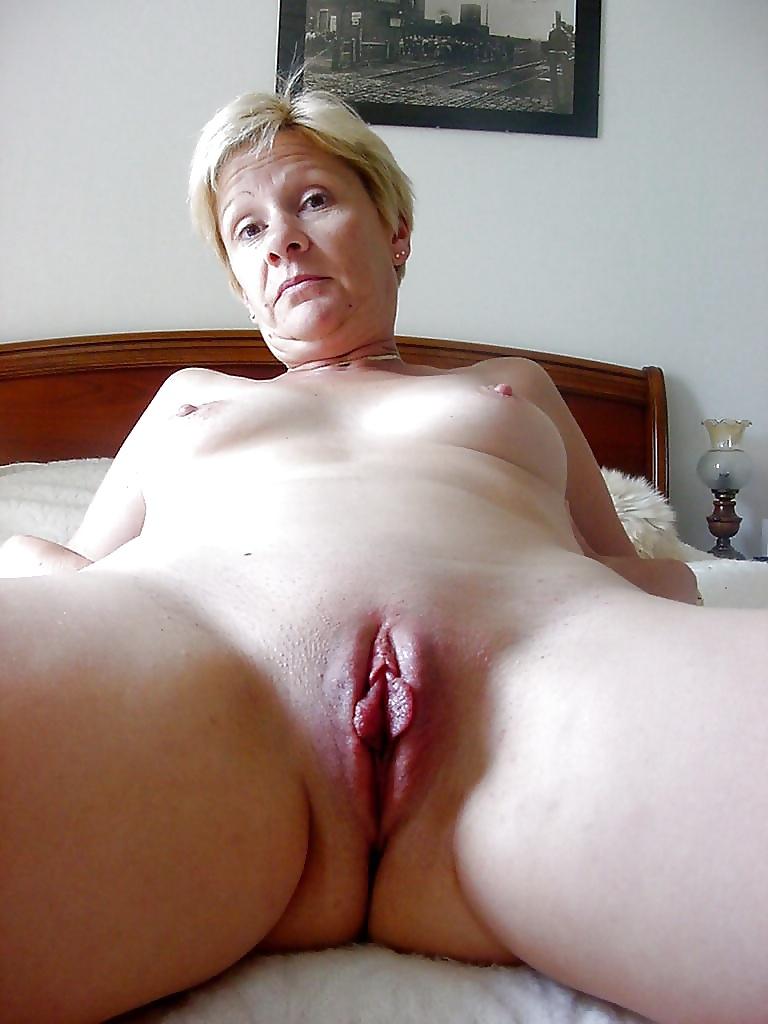 Shaved grandma