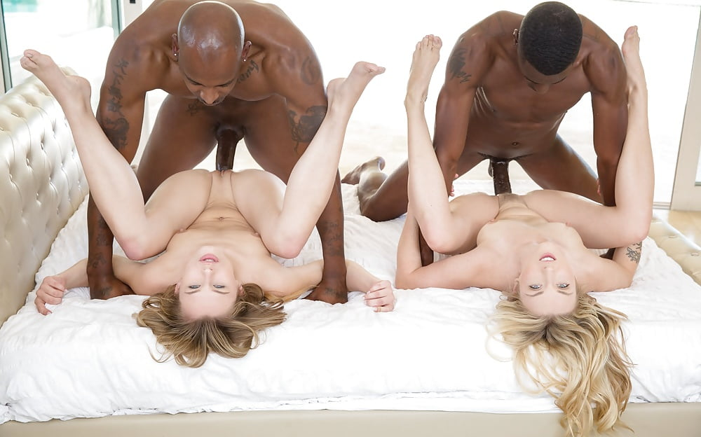 Video black girls threesome sex