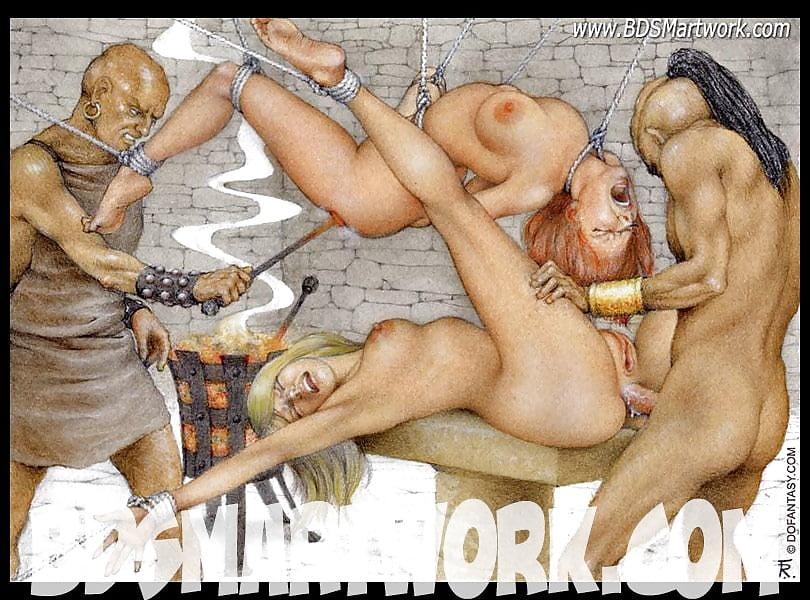 Жесткое древнее порно рабов, анус девушки большой фото крупно