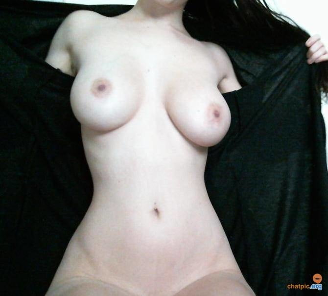 Sexy amateur brunette webslut with big real tits reposted