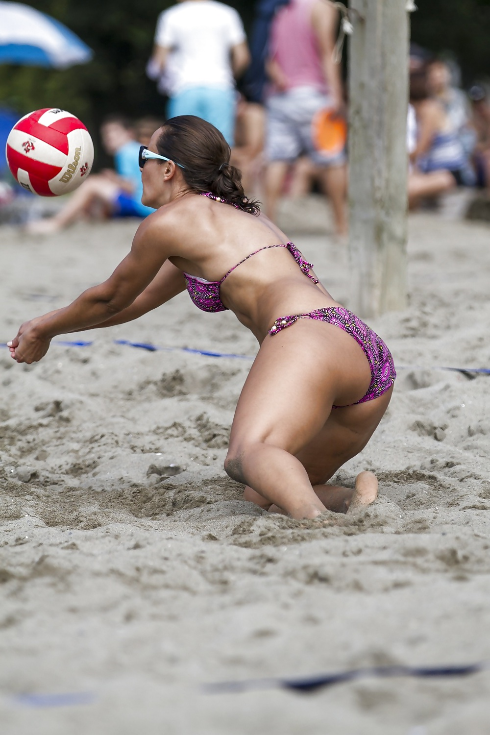Sexy beach volleyball women