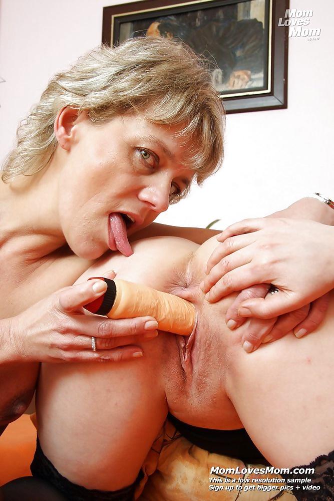 Sensual milf lesbian