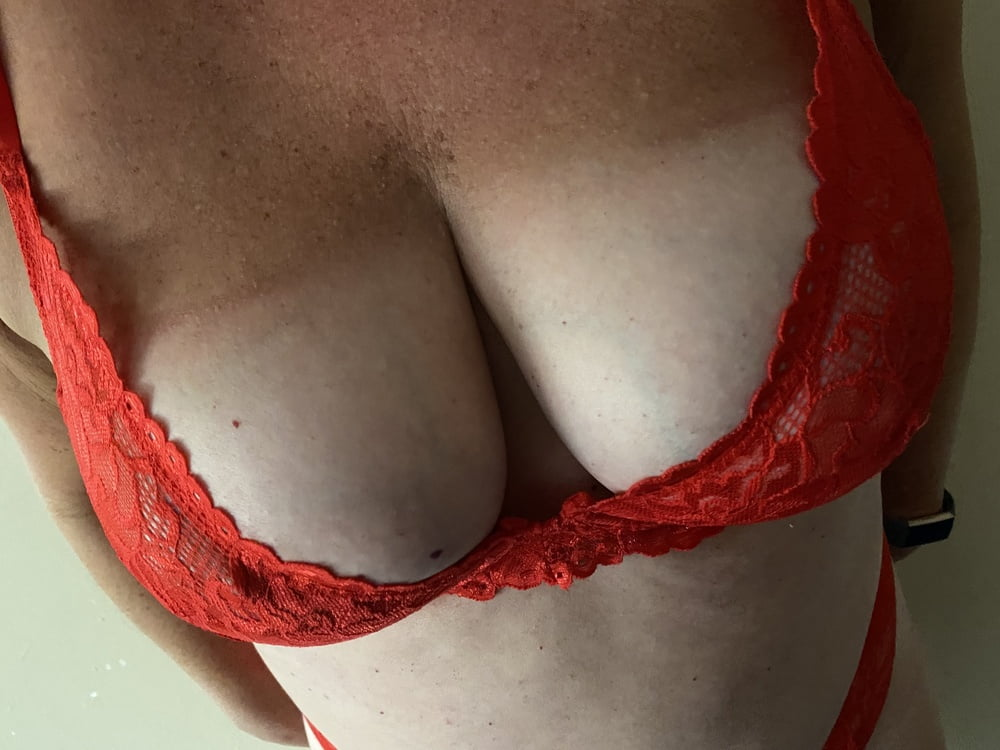 New red underwear- 8 Pics