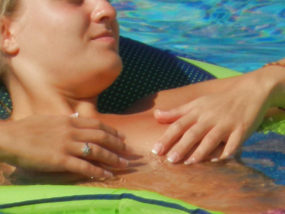 Porn amateur pool