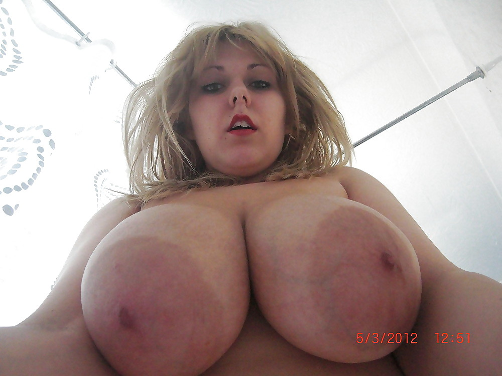 Sexy pics of blonde with big boobs