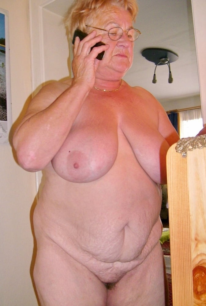 Mature grandmother posing pictures