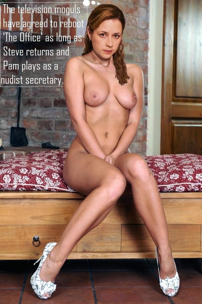 The Office Pam Jenna Fischer Naked