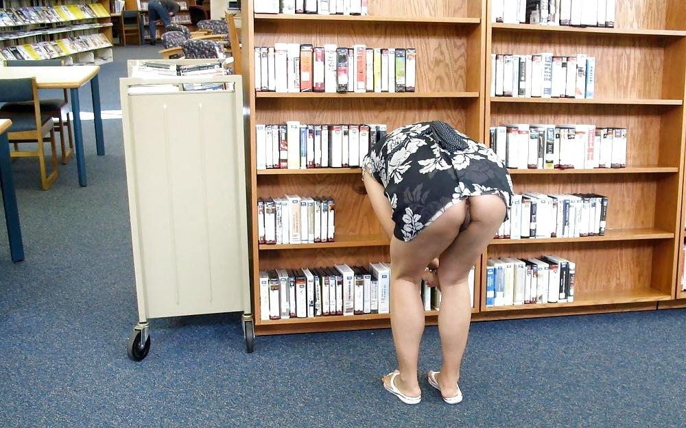 пизда в библиотеке