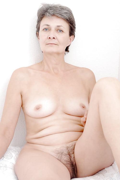 Gray hair mature naked women