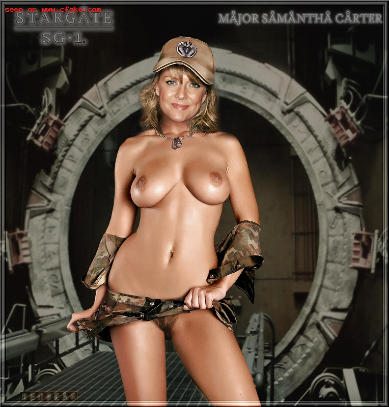 From stargate amanda tapping nude