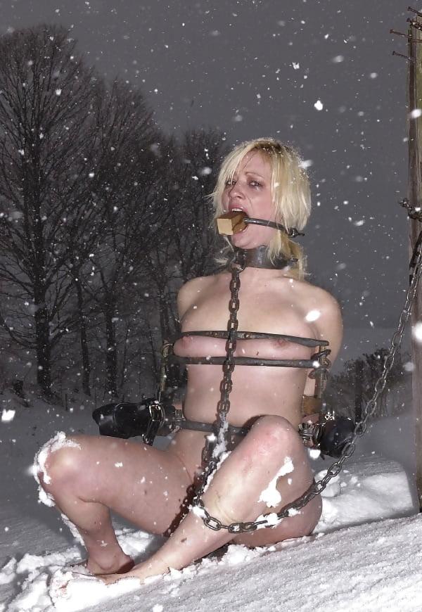 Snow bondage porn