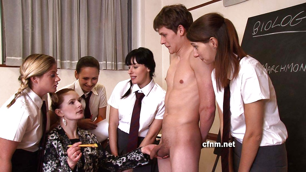 Nude girls and school boys — pic 4
