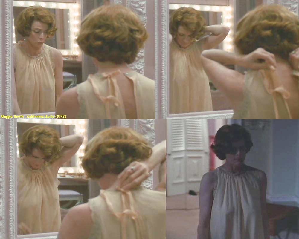Naked maggie smith in california suite ancensored