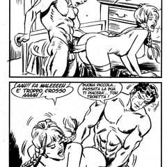 Old Italian Porn Comics 285