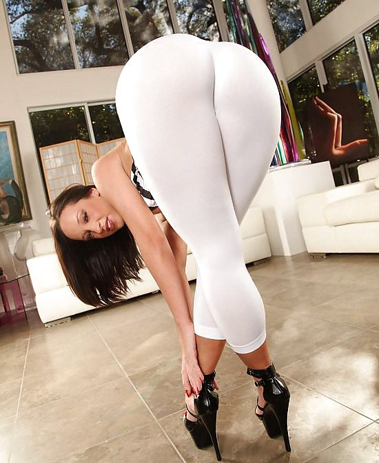 Legging white porn — photo 14