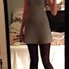 Short Dress and Long Legs