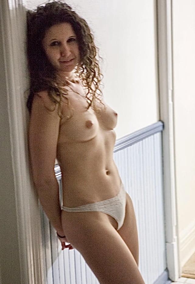 Fondling small tits