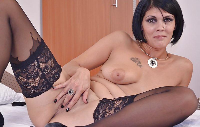 Very hot brunette milf videos