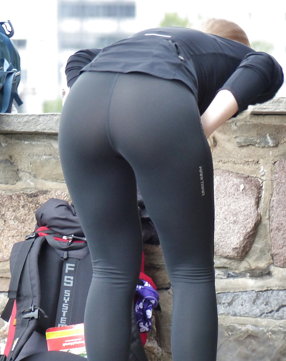Spandex ass jogging video, sister pantie sex