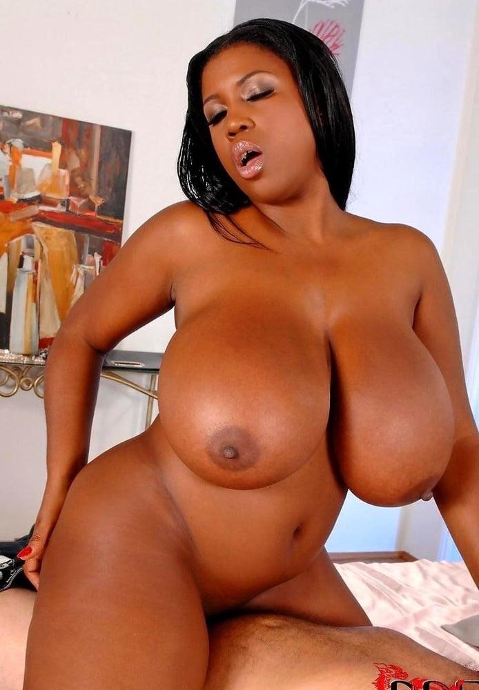 Busty black porn stars naked — photo 5