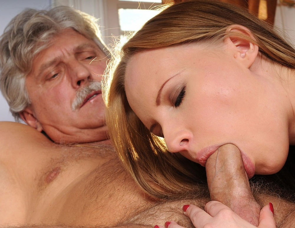 Old guys cumshot