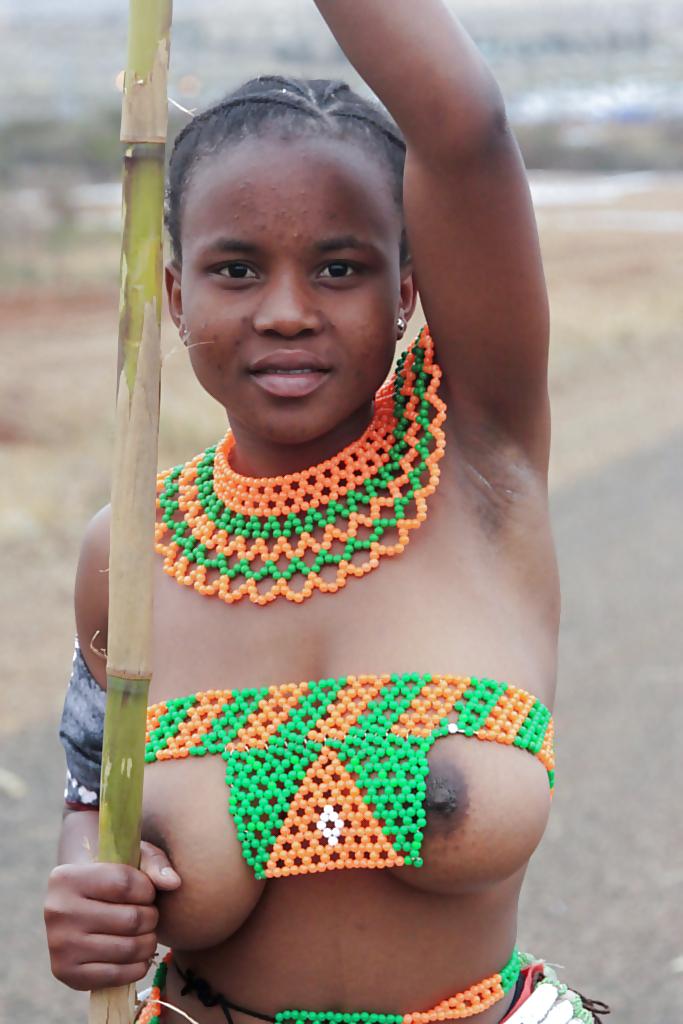 Large tribal women nude 3