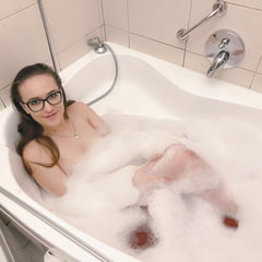 Erotic See and Save As in the bathroom          porn pict sex album thumbnail