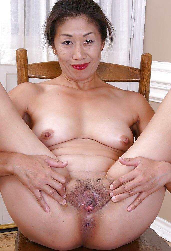 Older female asian nudes