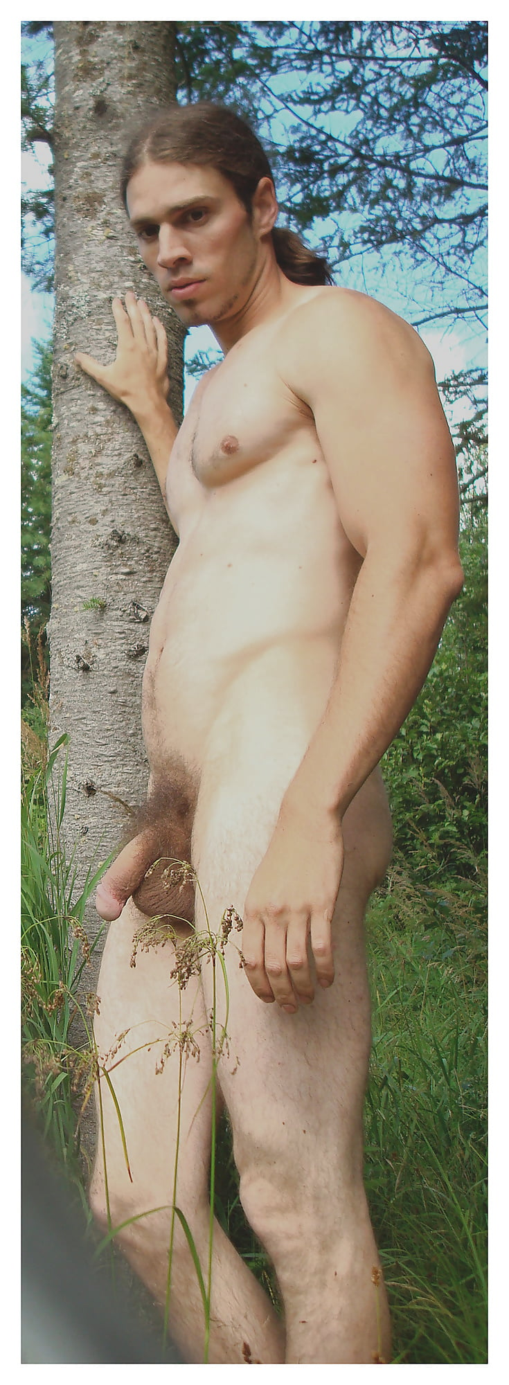 Vintage Golden Teen With Circumcised Hairy Penis - 2 Pics -1882