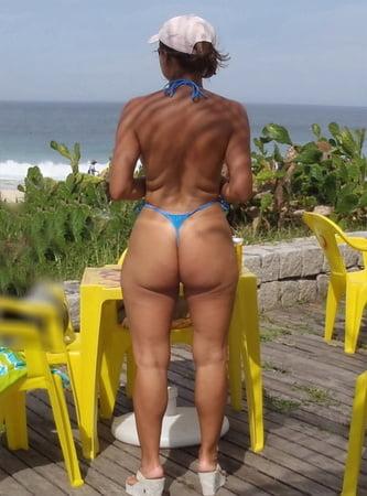 bikini small woman Older in