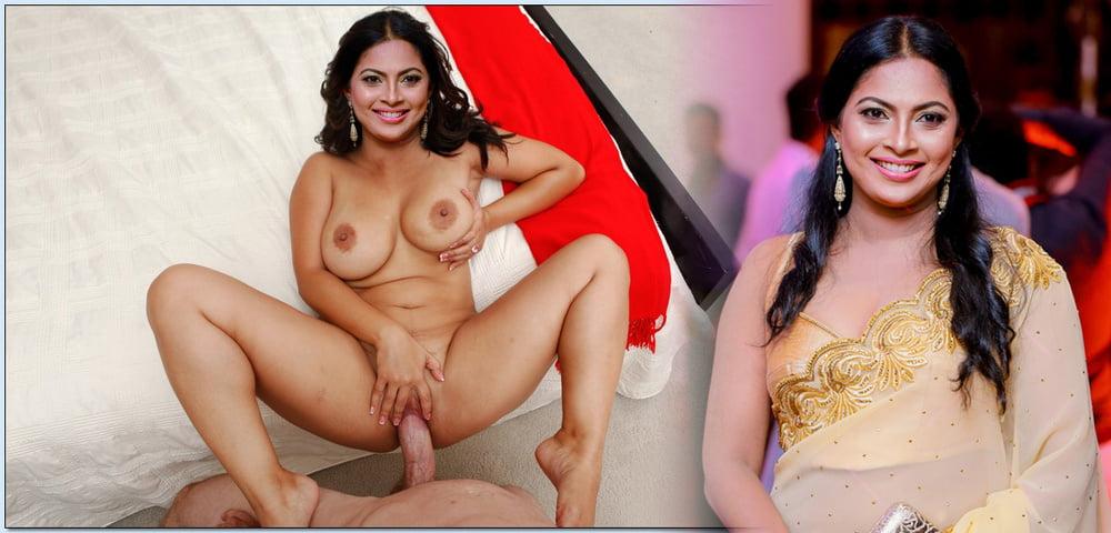 Sri Lankan Milf Actress Fake
