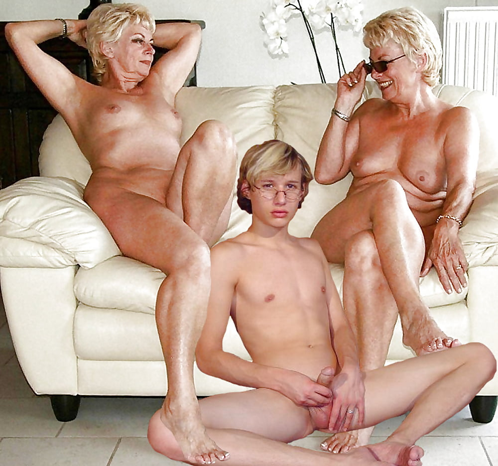Mature milf younger boy — pic 12