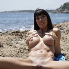 Naughty Bikini Milf In Public