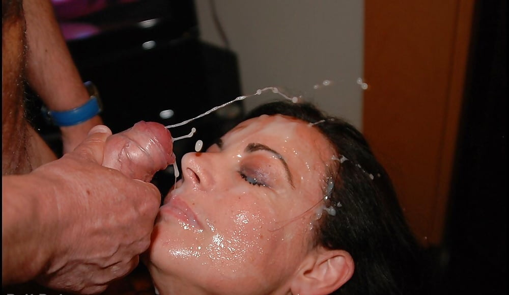 Mom cum facial, girls ass licking cow
