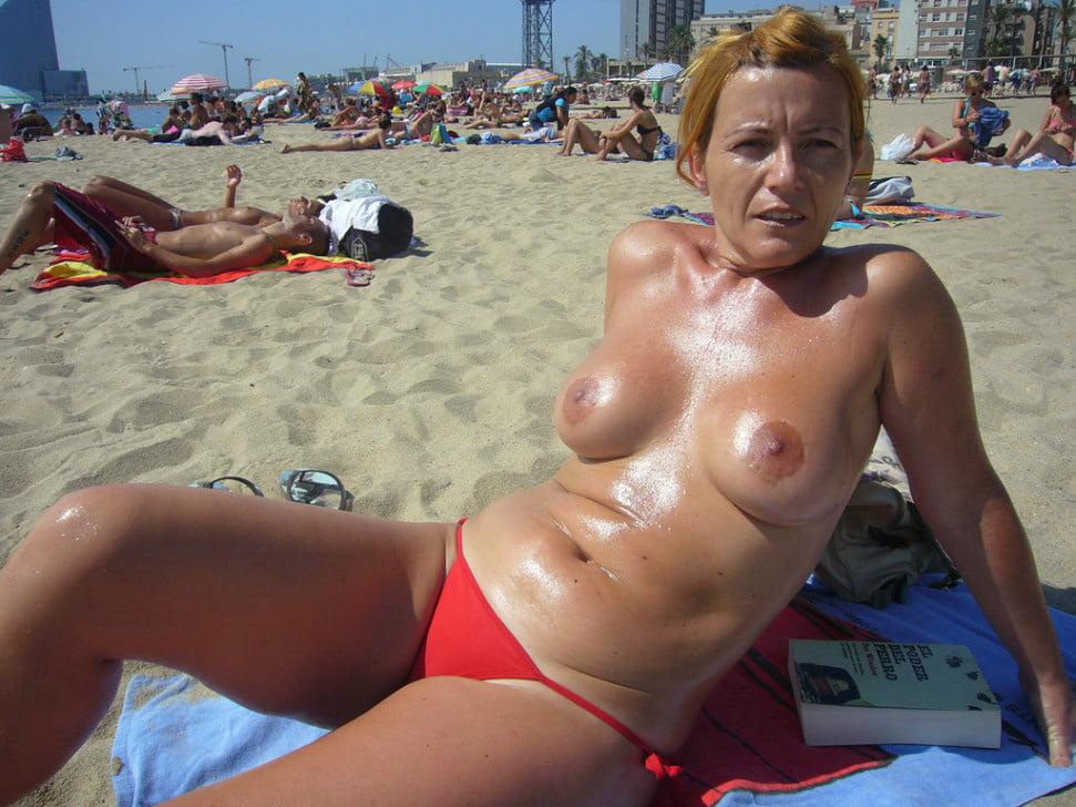 Beach slut galery nude amateurs