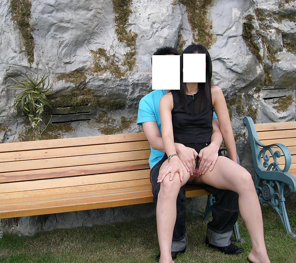 Korean having sex in public place — photo 15
