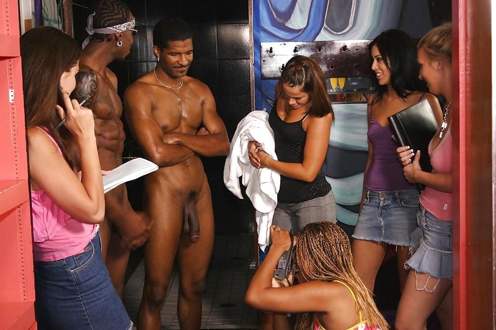 Female Sports Reporters In Locker Room