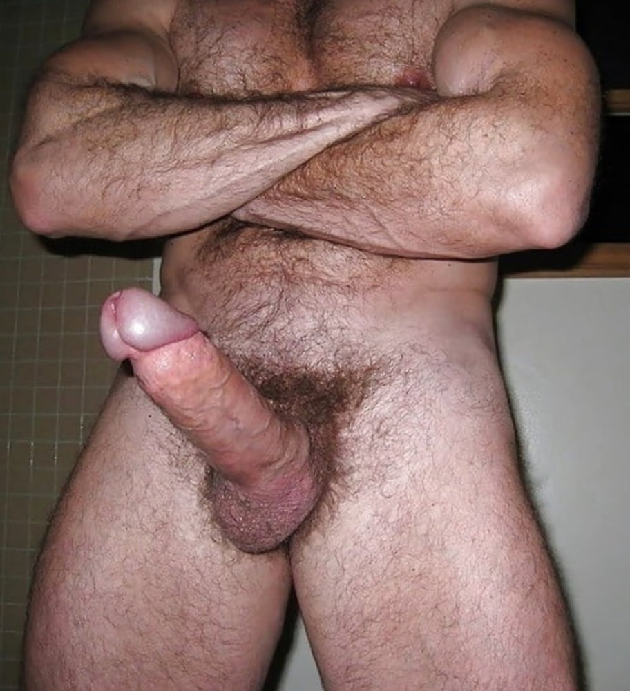 Thick hairy cock
