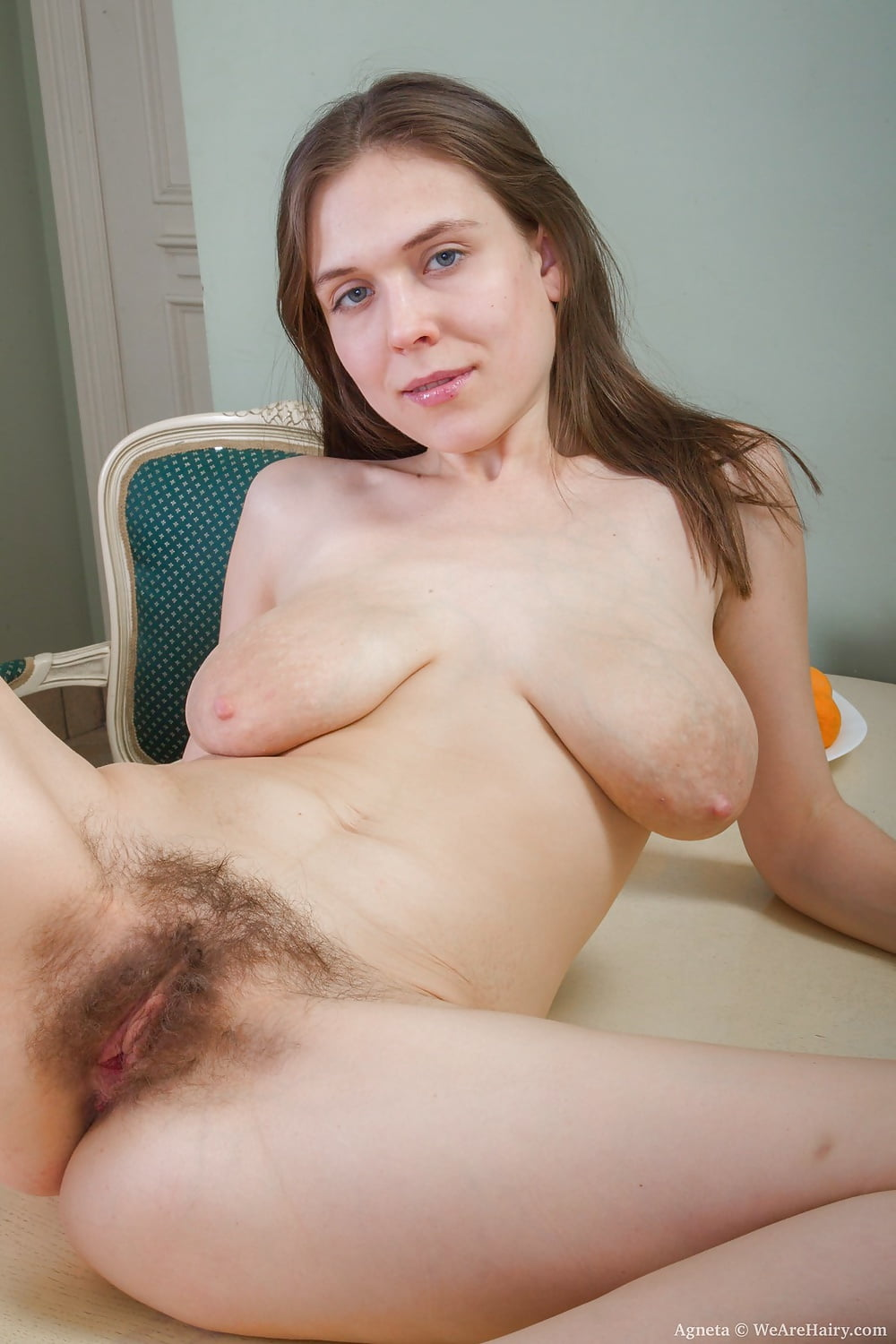 Large breasts hairy pussy fine sex pictures hd