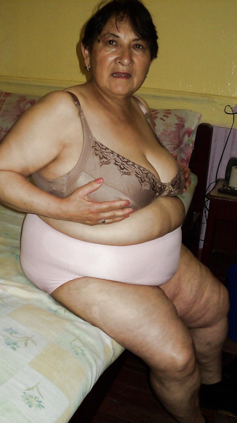 Naked Fat Granny